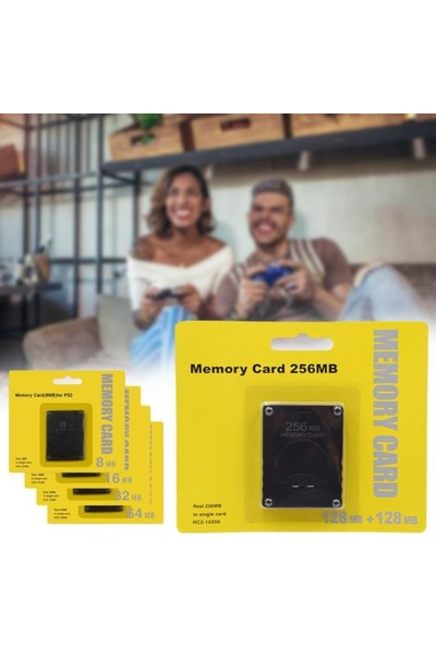 Sony Ps2 Playstation 2 16MB Hafıza Kartı