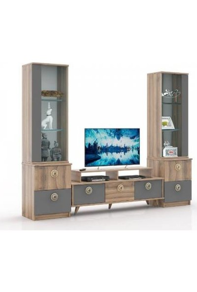 Abre Antrasit Tv Ünitesi LCD Sehpası Vm 4244042