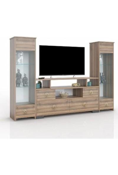 Abre Dore Ceviz Tv Ünitesi LCD Sehpası Vm 440441