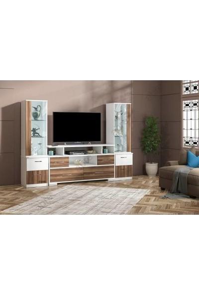 Abre Ceviz Tv Ünitesi LCD Sehpası Vm 4244042