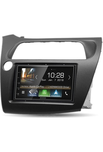 Kenwood Honda Civic Hatchback Carplay Android Mirrorlink Multimedya Sistemi