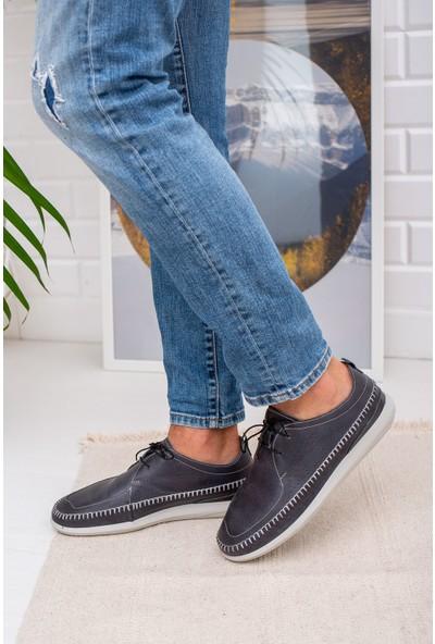 Epaavm Ortapedik Pedli Deri Ayakkabı