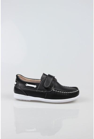 Epaavm Siyah Cırtlı Erkek Çocuk Ayakkabı