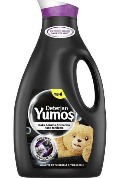 Yumoş Sıvı Bakım Çamaşır Deterjanı Siyah ve Koyu Renkli Giysiler İçin 2520 ML