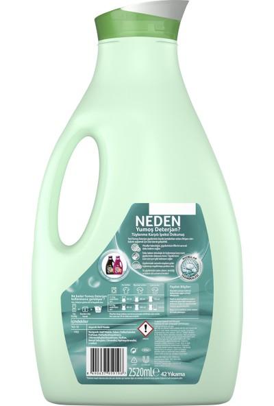 Yumoş Sıvı Bakım Çamaşır Deterjanı Hassas Giysiler İçin Tüylenme Karşıtı İpeksi Dokunuş 2520 ML