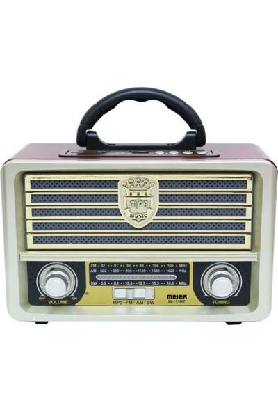 Meier M-113BT Bluetooth Hoparlörlü Radyo