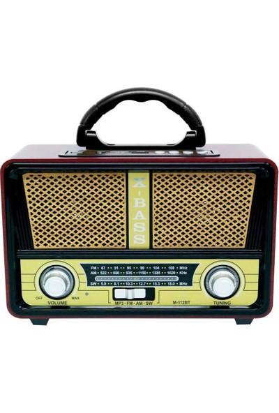 Meier M-112BT Bluetooth Hoparlörlü Radyo