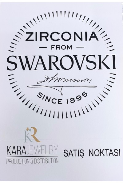 Swarovski Taşlı 925 Ayar Gümüş Peri Temalı Kadın Bileklik