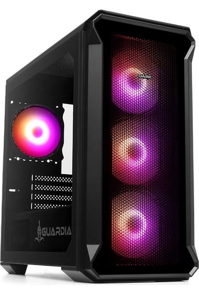 Dark GUARDIAN Mini PRO 500W 4 x 12 cm ARGB Fan USB 3.0 Tempered Glass mATX Oyuncu Kasası (DKCHGRMINIPRO500)