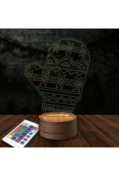 Artikel Eldiven 3D Led Gece Lambası