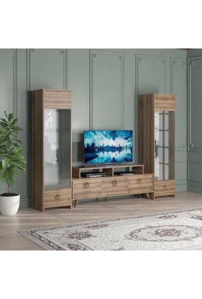 Abre Dore Ceviz Tv Ünitesi LCD Sehpası Vm 441451