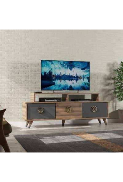 Abre Antrasit LCD Sehpası Tv Ünitesi Vm 451