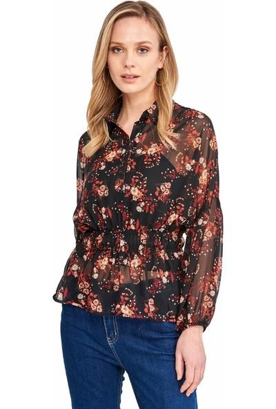 Şamdan Kadın 2319 Lacivert Bluz