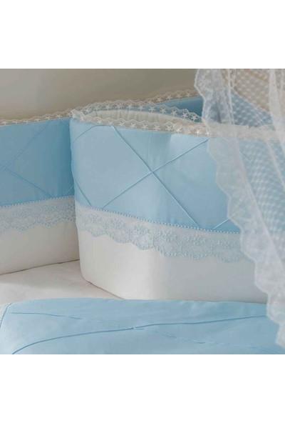 Mini Baby Nervür Bebek Uyku Seti 10 Parça 75X130 cm