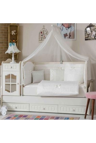 Mini Baby Inci Bebek Uyku Seti 10 Parça 60X120 cm