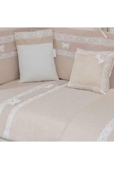 Mini Baby Linen Bebek Uyku Seti 10 Parça 60X120 cm