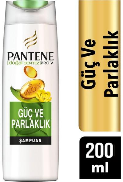 Pantene Güç ve Parlaklık Şampuan 200 ml x 4