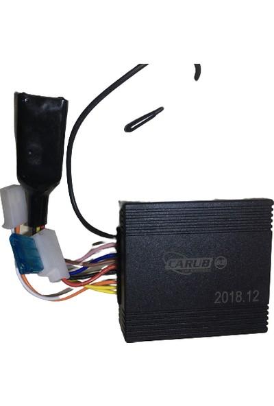 Carub Motosiklet Alarm Çalıştırmalı Carub 3108 Çift Kumanda Sustalı Tip Anahtarlı