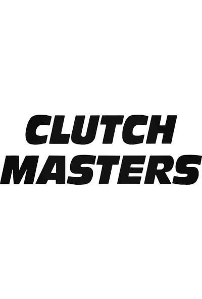 Universal Clutch Masters Graphic Sticker Araba Oto Arma Duvar Sticker Ev Dekoratif Çıkartma 20 x 20 cm Siyah