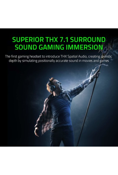 Razer Kraken Tournament Edition Thx 7.1 Surround Oyun Kulaklığı (Yurt Dışından)