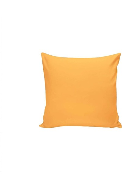 Textilla Koyu Sarı 42 x 42 cm Kırlent Kılıfı
