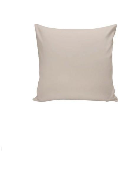 Textilla Açık Bej 42 x 42 cm Kırlent Kılıfı