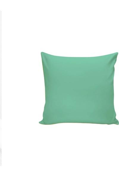 Textilla Mint Yeşili 42 x 42 cm Kırlent Kılıfı