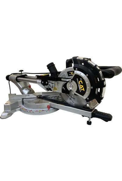 Catpro Çift Sürgülü Kızaklı Lazerli 45° Açılı Gönye Kesim Makinası