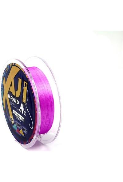 Fujin Aji Light 4x 100MT Pink Pe Ip Misina 0,05 mm