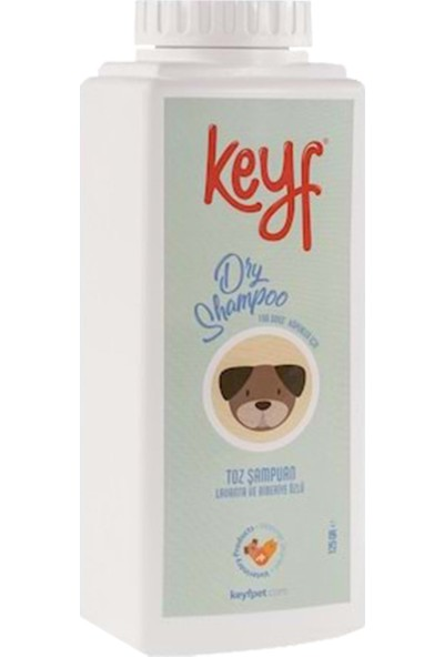 Köpek Toz Şampuan 125 gr