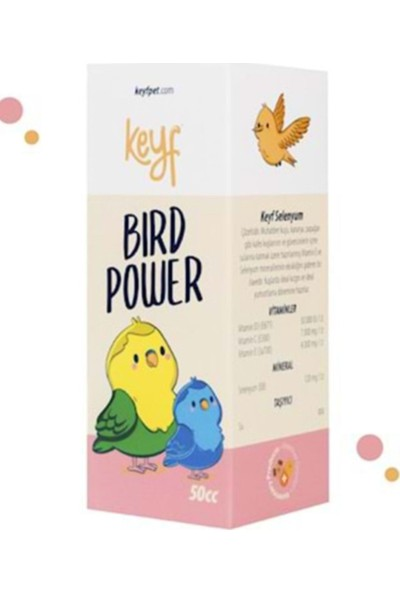 Birdpower Kuş Vitamini