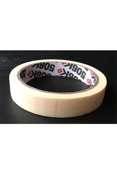 Pass 506K Maskeleme Bandı Boya Bandı Kağıt Bant 18MM