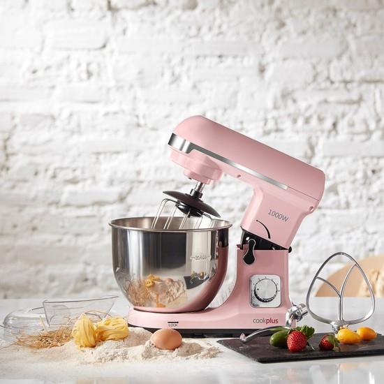 Cookplus Quick Chef 1001 Stand Mikser 1000W Mutfak Şefi Pink