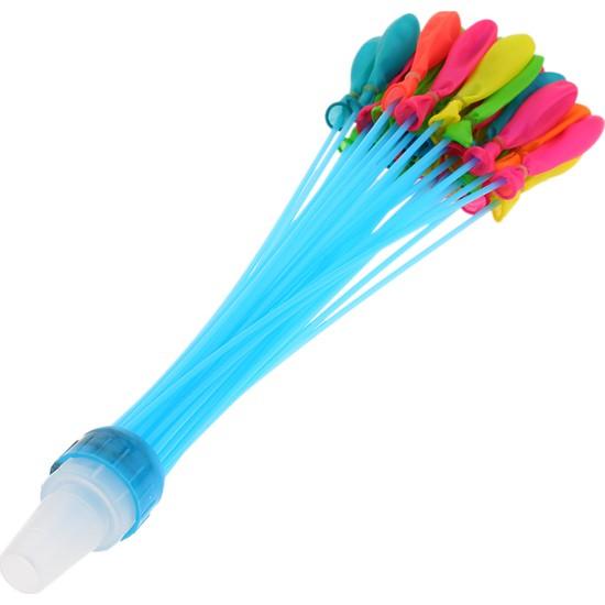 Buyfun 111'li Sihirli Su Balonları Renkli Hızlı Dolu Oyuncak