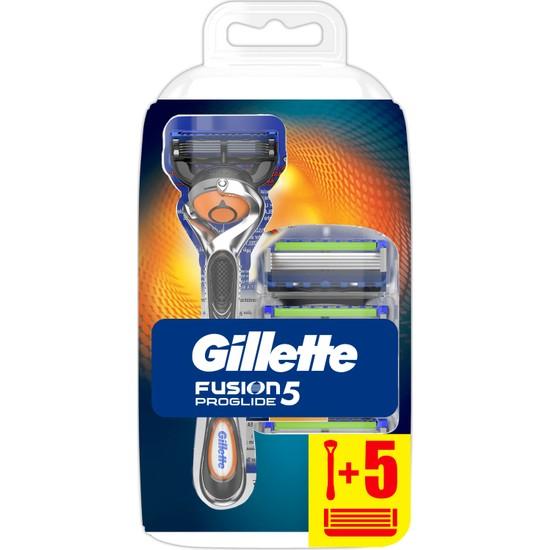 Gillette Fusion ProGlide Tıraş Makinesi + 5 Tıraş Bıçağı