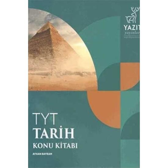 Yazıt Yayınları YKS - TYT Tarih Konu Kitabı