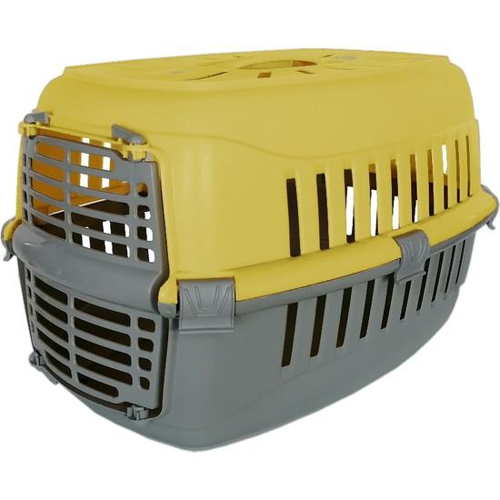 Lüx Kedi Köpek Taşıma Çantası 50X30X30 cm Sarı