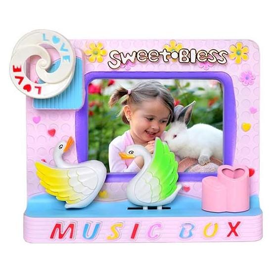 Fotoğraflı Müzik Kutusu 23*19 cm (Pilsiz Çalışır)