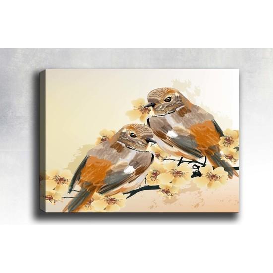 Syronix Kuş Kanvas Tablo