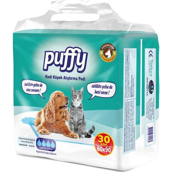 Puffy Kedi Köpek Çiş Pedi 30 Lu