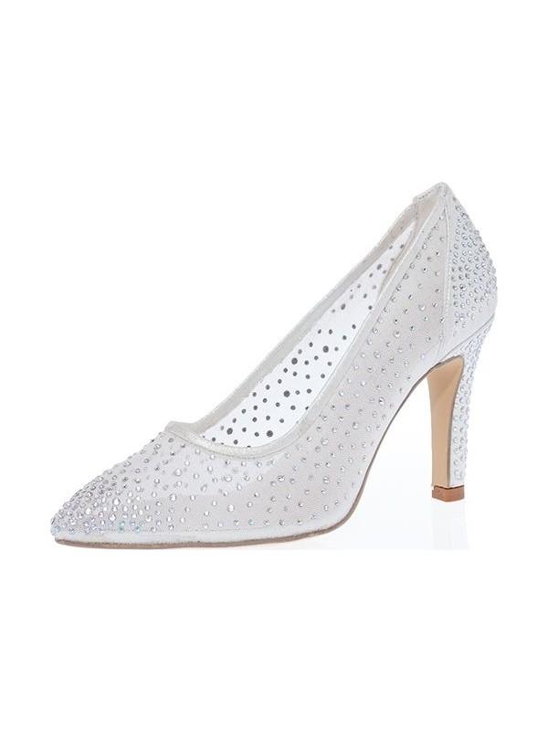 Kent Shop Sedef 9 cm Sindirella Kadın Abiye Ayakkabı