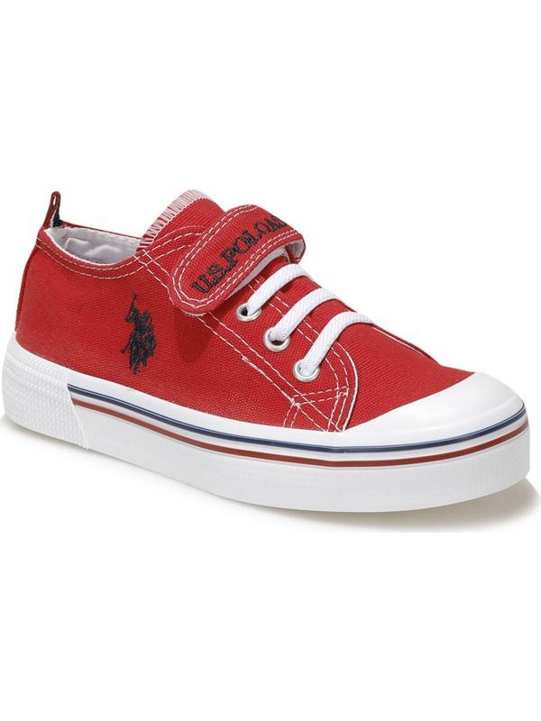 U.s. Polo Assn. Penelope 1fx Kırmızı Kız Çocuk Sneaker Ayakkabı