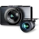 360 G500H Ön 2k - Arka 1080P 160° Geniş Açı Lens Gece Görüşü Dahili Gps Modülü Akıllı Araç Içi Kamera