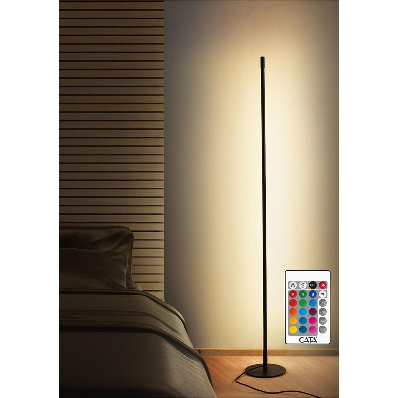 Aem Köşe LED Lambader Rgb Oda Aydınlatma Sistemi Fiyatı