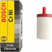 Bosch Ustanınyeri Bosch Iki Zamanlı Buji Set Motorlu Testere Tırpan Bakım Kiti