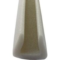 Netodak Geçmeli Kapı Altı Isı Yalıtım Süngeri Eşik Süngeri (6 Adet) Soğuk Önleyici Beyaz Renkli