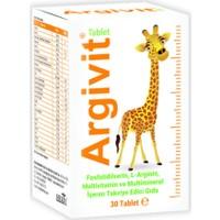 Argivit Tablet - Dikkat Eksikliğine ve Odaklanma Artışına Yardımcı - 30 'lu Tablet