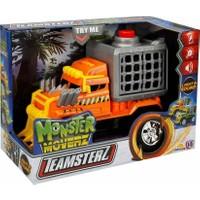 Teamsterz Monster Moverz Dino Escape Sesli ve Işıklı Motorize Kamyon