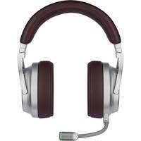 Corsair Virtuoso Rgb Wireless Se Espresso CA-9011181-EU Mikrofonlu 7.1 Surround Kablosuz Gaming Kulaklık Kahverengi