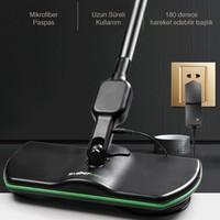 Electrozone Super Maid Pratik Kablosuz Şarjlı Mop Paspas Cilalama Parlatma Temizlik Makinesi